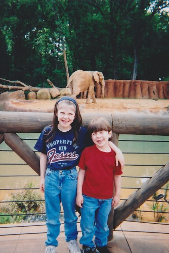 Emily and Elijah At Zoo Atlanta